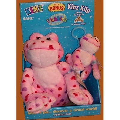 Webkinz Love Frog Kinz & Klip: Toys & Games