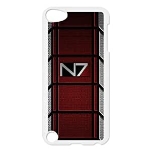 Exquisite stylish phone protection shell Ipod Touch 5 Cell phone case for Mass Effect pattern personality design