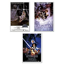 Star Wars: Episode IV, V & VI - Movie 24x36 Poster