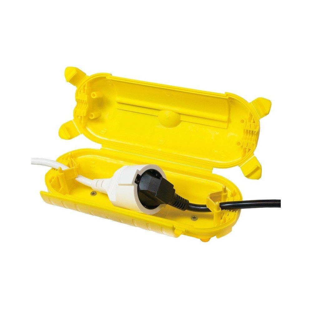 Caja De Protecció n De Cable De Alimentació n Exterior De Logilink, Ip44, Amarillo 2direct GmbH LPS217