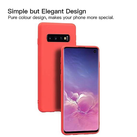 Wanxideng - 6X Funda para Samsung Galaxy S10, Carcasa en Silicona: Amazon.es: Electrónica