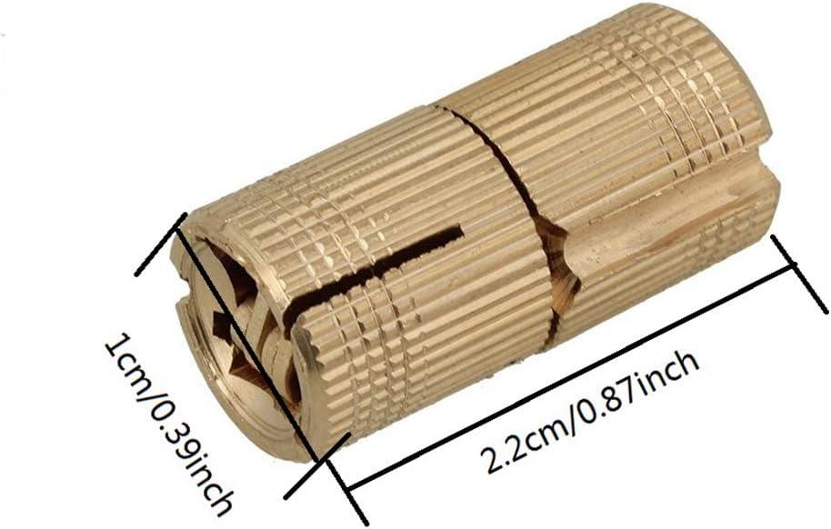 Bisagra para taladro lat/ón, bisagra oculta, para manualidades Gaosheng