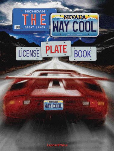 The Way Cool License Plate Book ()