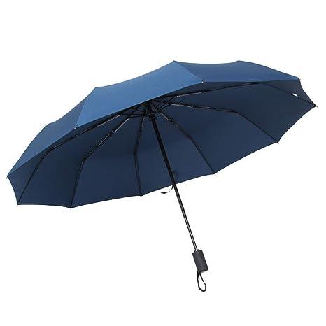 LybCvad paraguas Sombrillas de paraguas de color paraguas de negocios transparentes viento dual y degradado de