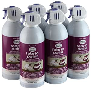 simply spray upholstery fabric spray paint 8 oz can plum home improvement. Black Bedroom Furniture Sets. Home Design Ideas