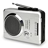 DIGITNOW AM/FM Portable Pocket Radio and Voice Audio Cassette Recorder,Personal Audio Walkman Cassette
