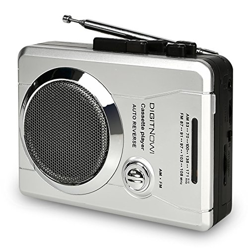 ble Pocket Radio and Voice Audio Cassette Recorder,Personal Audio Walkman Cassette Player with Built-in Speaker and Earphone ()