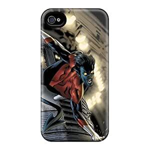 Shock Absorbent Cell-phone Hard Cover For Iphone 6plus With Customized Realistic Nightcrawler I4 Pattern DannyLCHEUNG