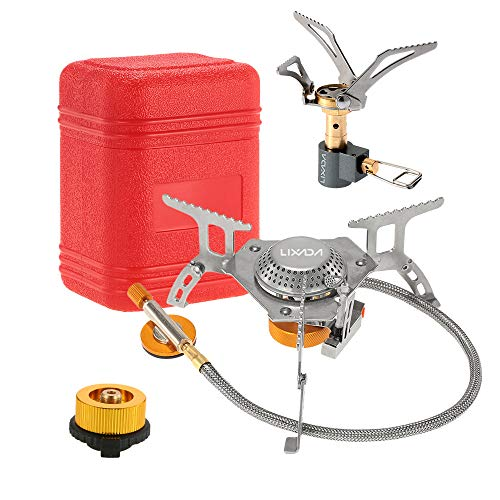 collapsible propane camping stove - 5