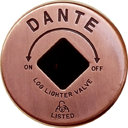 Dante Products FP.GV.AC Antique Copper Floor Plate for Dante Globe Valve (Globe Valve Thread)