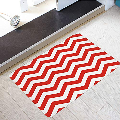 Flannel Microfiber Door Mat Bathroom Rugs Floor Mats Washable Entry Front Door Entrance Rugs Bath Bedroom Patio Soft Absorbent Door Mats Machine Carpet Anti Slip Backing ()