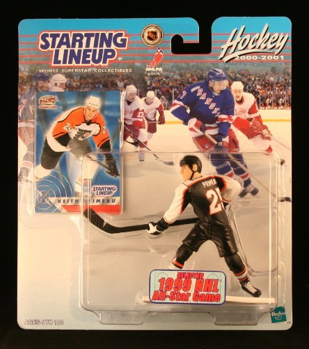 KEITH PRIMEAU / PHILADELPHIA FLYERS 2000-2001 NHL Starting Lineup Action Figure & Exclusive Collector Trading Card