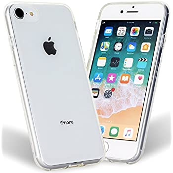 iPhone 7 Case iPhone 8 Case Scratch Resistant Soft TPU Ultra Slim Lightweight Crystal Clear Transparent Case for Apple iPhone 7 iPhone 8 All Carriers by iSee Case (Clear)