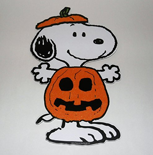 Peanuts Its The Great Pumpkin Charlie Brown Snoopy Halloween Wall Sign