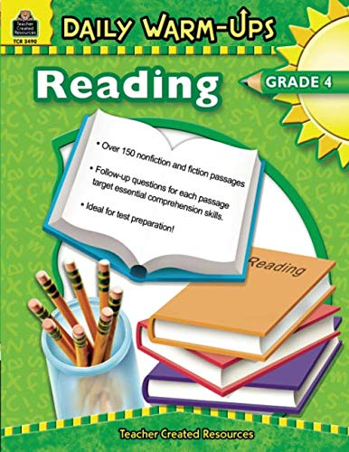 Daily Warm-Ups: Reading, Grade 4: Reading, Grade 4 ()