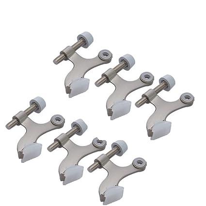 6-pack Hinge Pin Satin Nickel Door Stopper  sc 1 st  Amazon.com & Amazon.com: 6-pack Hinge Pin Satin Nickel Door Stopper: Home Improvement