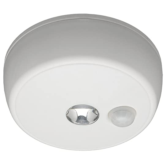 Wonderful Mr. Beams MB980 Wireless Battery Operated Indoor/Outdoor Motion Sensing LED  Ceiling