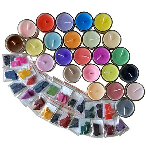 IronBuddy Candle Color Dye Block 24 Colors Soy Wax Dye for Candle Making