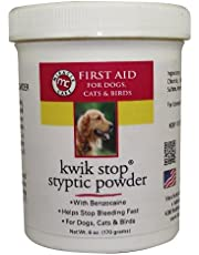 Miracle Care 423636 Kwik-Stop Styptic Powder 6 Ounce Resealable Tub