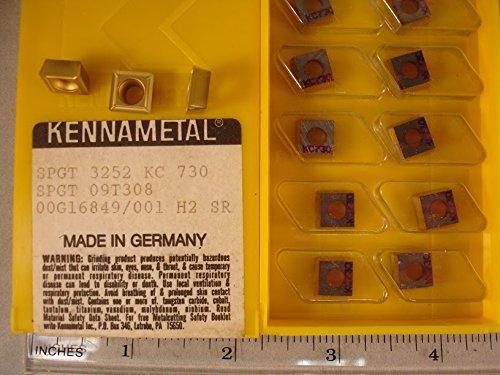 425 New/&Original Spgt 3252 Kc730 Kennametal Carbide Inserts Kennametal 10Pcs