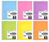 Mead Spiral Notebook, Pack of 18 Different