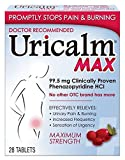Uricalm Maximum Strength Urinary Pain Relief Tablets, 28 Count