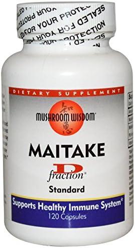 Mushroom Wisdom Maitake D-fraction – 120 Capsules