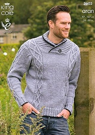 Amazon King Cole Mens Sweater Gilet Big Value Knitting