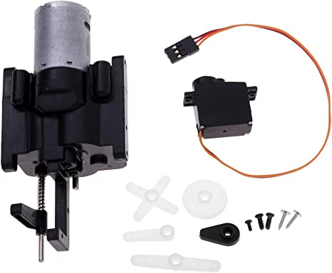 For WPL Toy Upgrade Parts OP Fitting Metal Accessories 2 Speed Transmission