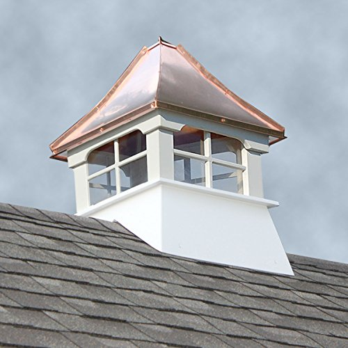 Shed Cupola with Windows