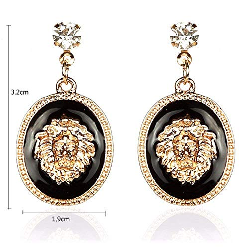 Glitz Diva Collection Shining Stylish Lion Drop and Dangle Earrings for Earrings/Women