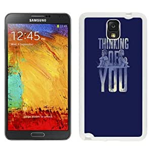 NEW Unique Custom Designed Samsung Galaxy Note 3 N900A N900V N900P N900T Phone Case With Thinking Of You Valentines_White Phone Case