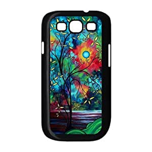 Custom CRESCENT MOON Design Plastic Case for Samsung Galaxy S3