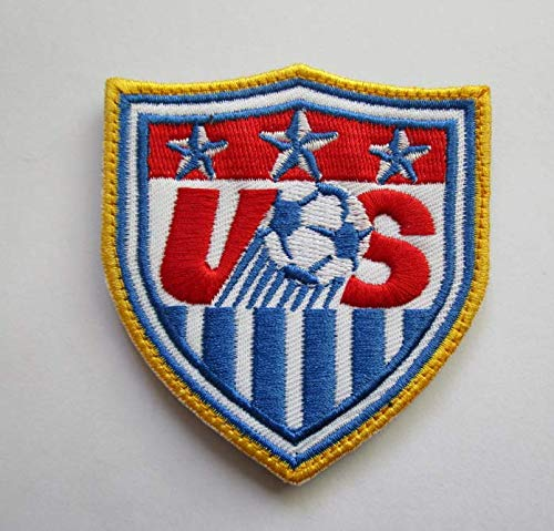 - USA United States World Cup Football Soccer Club Team Military Patch Fabric Embroidered Badges Patch Tactical Stickers for Clothes with Hook & Loop