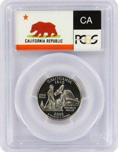 Outer Quarter (2005 California State S Clad Proof Quarter PR-69 PCGS)