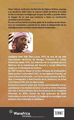 La huelga de mendigos: Amazon.es: Sow, Aminata: Libros