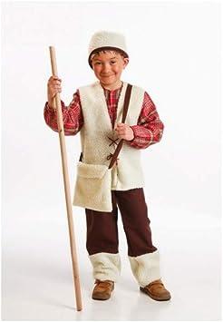 Disfraz de Pastor Niño (8-10 Años): Amazon.es: Juguetes y juegos