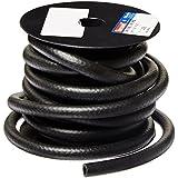 "HBD Thermoid NBR/PVC SAE30R6 Fuel Line Hose, 3/8"" X 25' Length, 0.375"" ID, Black"