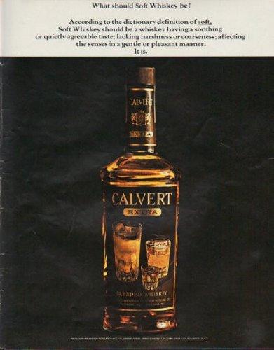 1963 Calvert Whiskey Ad