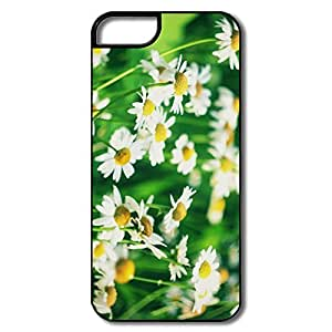 IPhone 5/5S Shell, Chamomile Flowers White/black Cases For IPhone 5S