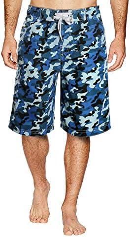 水着 メンズ 海パン 海水パンツ ビーチパンツ 防水速乾 無地 メッシュインナー 迷彩 サーフパンツ
