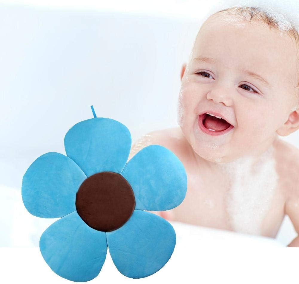 Eternitry Babybadewanne Bather Bath Pad Infant F/ünf Bl/ütenbl/ätter Blume Badekissen Kinder Weiche Schwimmende Liege Neugeborenen Pad Junge M/ädchen Badewanne Schaummatte