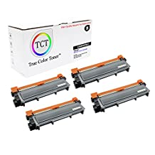 TCT Premium Compatible TN630 Black Toner Cartridge 4 Pack - 1,200 yield- Replaces Brother TN-630, works with the HL-L2300,L2320,L2340,L2360,L2365, DCP-L2500,L2520,L2540, MFC-L2700,L2720,L2740