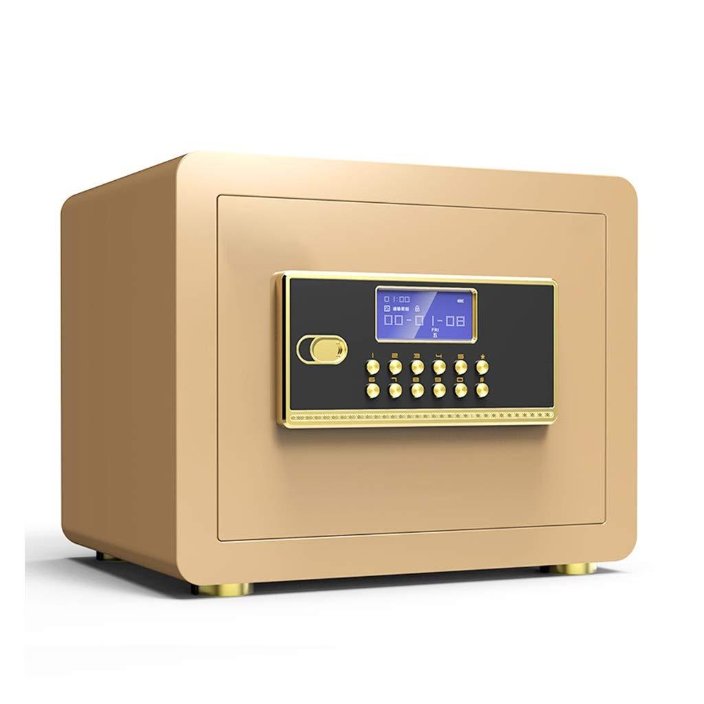 Safes Boxes & Organisers Seat Belt Alarm Tamper-Proof Digital Key 352525cm (Color : Gold B) by Safes