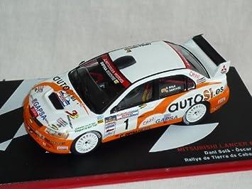 Mitsubishi Lancer Evo Evolution Ix 9 Dani Sola Oscar Sanchez Rallye De Tierra De Cabanas 2007 Rally 1 43 Altaya By Ixo Model Car Model Car Special Offer Spielzeug