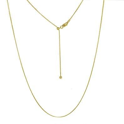 Amazon.com: Verona Jewelers Collar de plata de ley ajustable ...