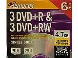 Memorex 4.7GB DVD+R/DVD+RW Combo-Pack