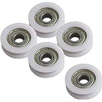 Chiloskit 5 rodamientos de nailon redondos de 8