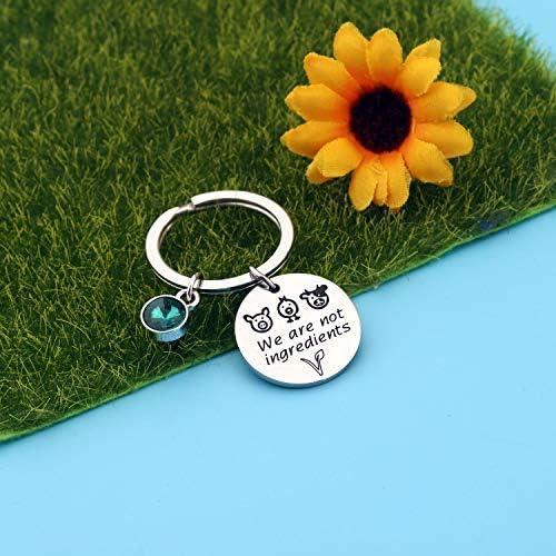 Vegetarian Jewelry Vegan Bracelet We Are Not Ingredients Animal Rights Bracelet Gift For Vegan Veganism Gift