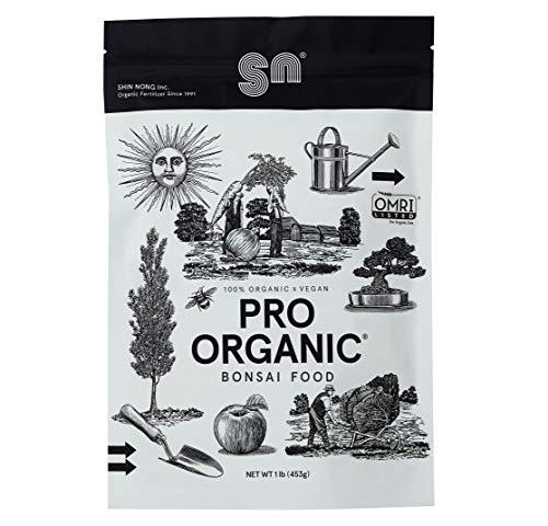 PRO Organic Bonsai Fertilizer by Shin Nong, 100% Organic, OMRI Listed, 1lb